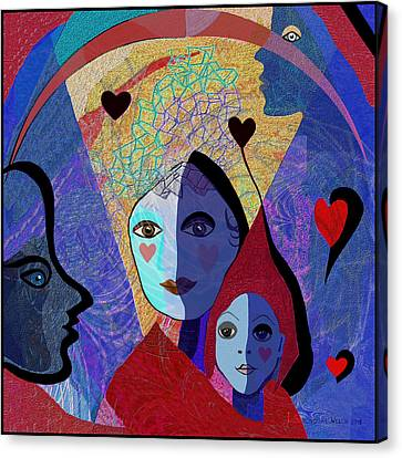 834 -  Mighty Mother  Canvas Print by Irmgard Schoendorf Welch
