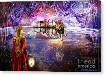 Jerusalem Canvas Print -  New Jerusalem by Dolores Develde