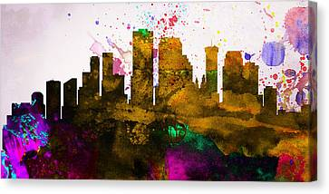 New Orleans City Skyline Canvas Print
