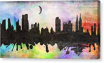 New York 6 Canvas Print