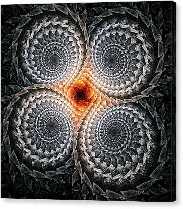 Night Impression Canvas Print by Anastasiya Malakhova