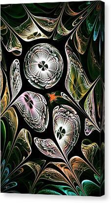 Night Vision Canvas Print by Anastasiya Malakhova