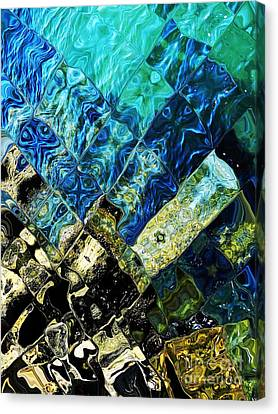 Ocean Art Canvas Print by Everette McMahan jr