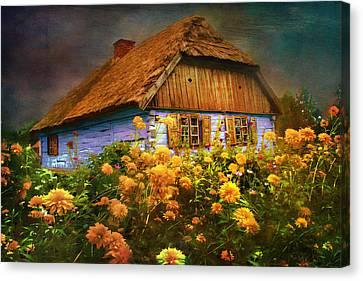 Old House... Canvas Print by Andrzej Szczerski