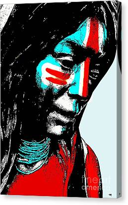 One Nation Canvas Print by Everette McMahan jr