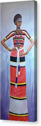 Oromo Lady Canvas Print