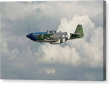 P51 Mustang Gallery - No1 Canvas Print by Pat Speirs