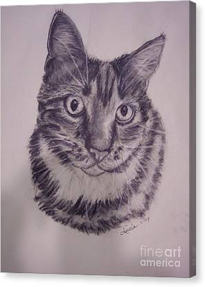 Pet Portraits  Canvas Print by Lucia Grilletto
