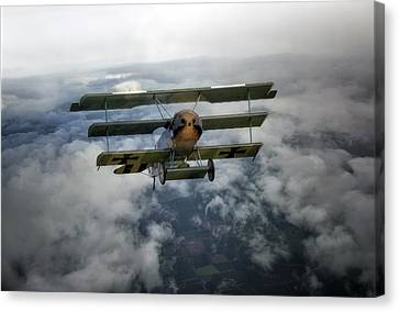 Pioneers Of Aviation Canvas Print