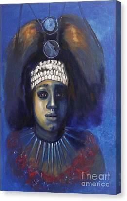 Princess From Hawaii Canvas Print