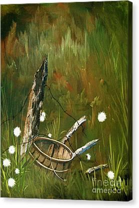 Renewed Canvas Print by Sharon Burger