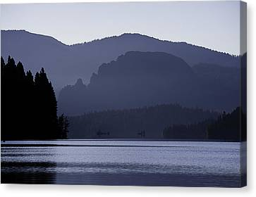 Rimrock Lake Canvas Print by Gary Neiss
