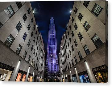 Rockefeller Center - New York - New York - Usa 4 Canvas Print