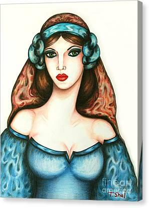 Roman Woman Canvas Print