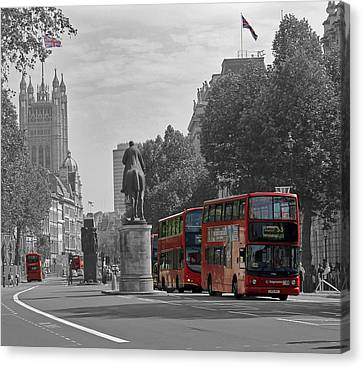 Routemaster London Buses Canvas Print