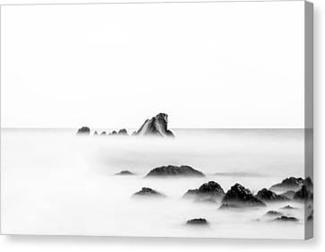 Samphire Hoe - Seascape Canvas Print by Ian Hufton