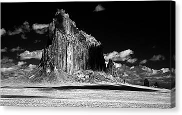 Shiprock East Face Canvas Print