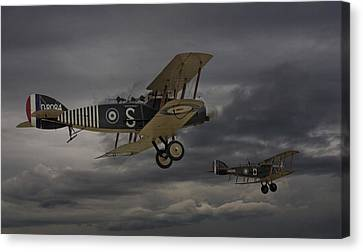 Ww1 Canvas Print -  Show Me The Way Home by Pat Speirs