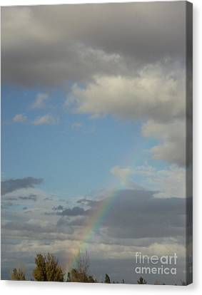 Canvas Print featuring the photograph  Skys The Limit by Carla Carson