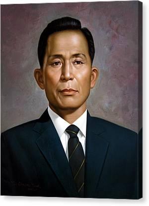 South Korea's President Park Chung-hee Canvas Print by Yoo Choong Yeul