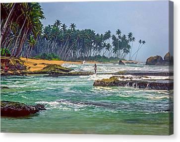Sri Lanka Canvas Print by Steve Harrington