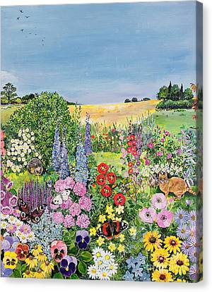 Summer From The Four Seasons Canvas Print