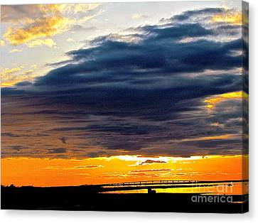 The Earth Dreams Canvas Print by Q's House of Art ArtandFinePhotography