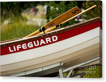 The Lifeguard Boat Canvas Print