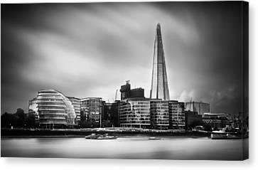 The Shard And City Hall London Canvas Print by Ian Hufton
