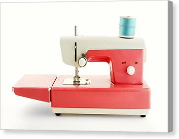 Toy Sewing Machine Canvas Print