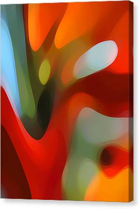 Abstract Forms Canvas Print -  Tree Light 2 by Amy Vangsgard