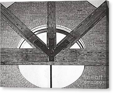 Trinity Series 1 Canvas Print by Luther Fine Art