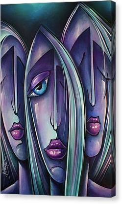 ' Trio ' Canvas Print by Michael Lang