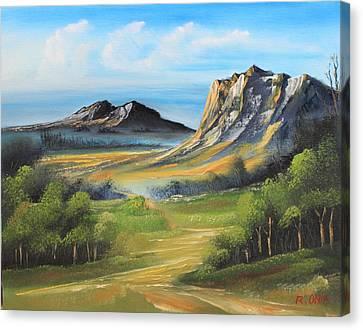 Twin Peaks Canvas Print by Remegio Onia