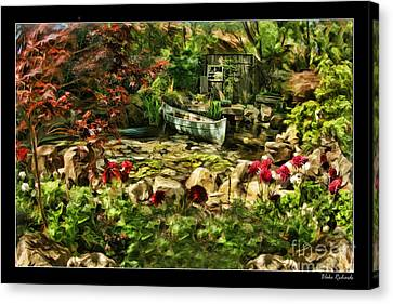 Uncle Toms Cabin  Canvas Print by Blake Richards