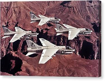 Va-15 Valions Canvas Print by Peter Chilelli