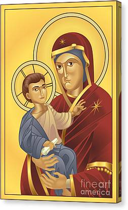 Virgin Mary And Jesus Christ Canvas Print