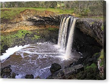 Wannon Falls Canvas Print by Kim Andelkovic