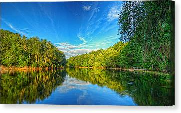 Canvas Print featuring the photograph 0018-24-142 by Lewis Mann