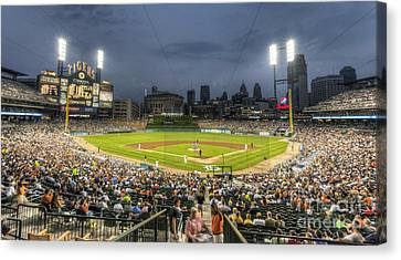 0101 Comerica Park - Detroit Michigan Canvas Print