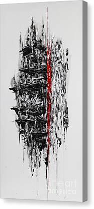 0107 Mirrorface  Canvas Print by Victor Jimenez Mesa