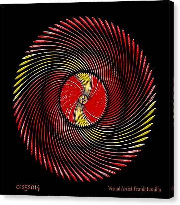 #01252014 Canvas Print by Visual Artist  Frank Bonilla