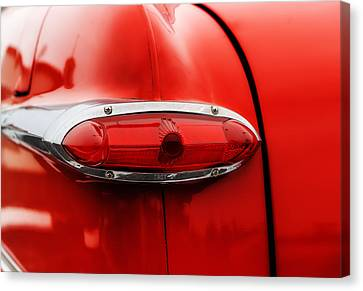 1951 Ford Tudor Tail Light Canvas Print by Frank J Benz