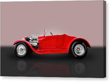 1927 Ford Model T Canvas Print by Frank J Benz