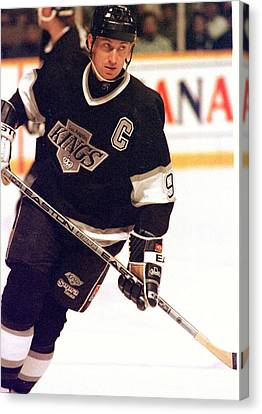 01.wayne Gretzky.la King.jpg Canvas Print