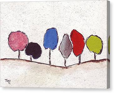 02 Trees Canvas Print