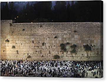 022 Jerusalem Canvas Print by Alex Kolomoisky