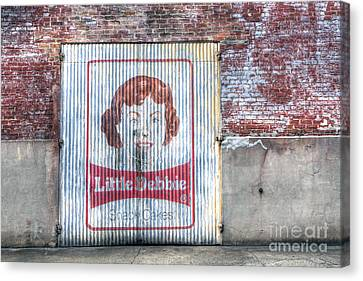 0256 Little Debbie - New Orleans Canvas Print