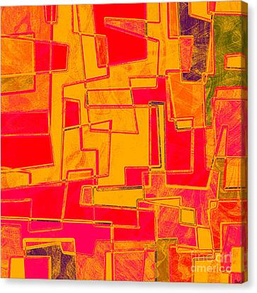 0275 Abstract Thought Canvas Print by Chowdary V Arikatla