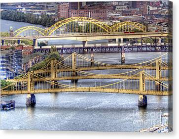 0307 Pittsburgh 8 Canvas Print by Steve Sturgill